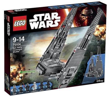 Stavebnice Lego® Star Wars 75104 Kylo Ren´s Command Shuffle + DOPRAVA ZDARMA