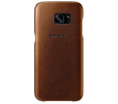 Samsung pro Galaxy S7 kožené (EF-VG930L) - hnědý + DOPRAVA ZDARMA