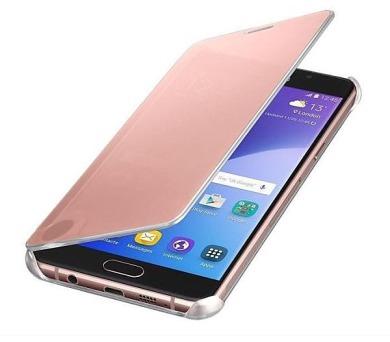 Samsung Clear View pro Galaxy A5 2016 - růžové + DOPRAVA ZDARMA