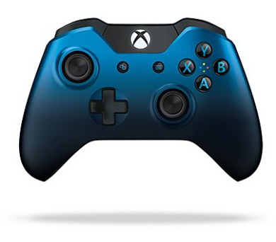 Microsoft Xbox One Langley Wireless - modrý