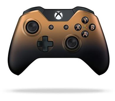 Microsoft Xbox One Langley Wireless - bronzový