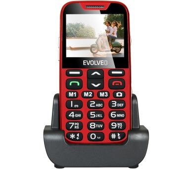 Evolveo EVOLVEO EasyPhone XD pro seniory - červený