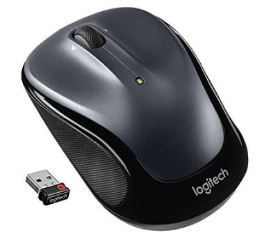 Logitech Wireless Mouse M325 Dark Silver / optická / 3 tlačítka / 1000dpi