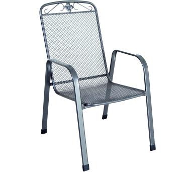 Zahradní židle Garland Savoy stohovatelná židle z tahokovu