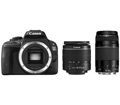 Canon EOS 100D + EF-S 18-55 DC + 75-300 DC + DOPRAVA ZDARMA