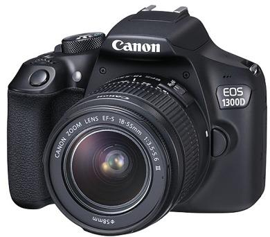 Canon EOS 1300D + objektiv 18-55 DC III + DOPRAVA ZDARMA