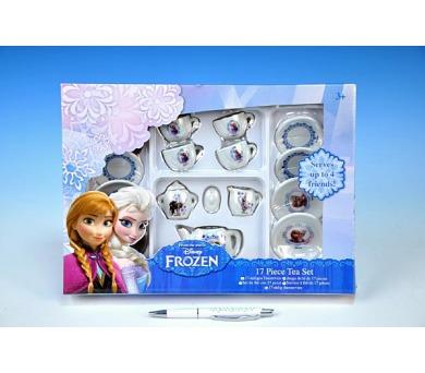Nádobí čajová sada Frozen/Ledové království 17ks porcelán v krabici + DOPRAVA ZDARMA