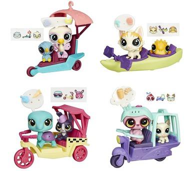 Hasbro zvířátko s kamarádem a vozidlem