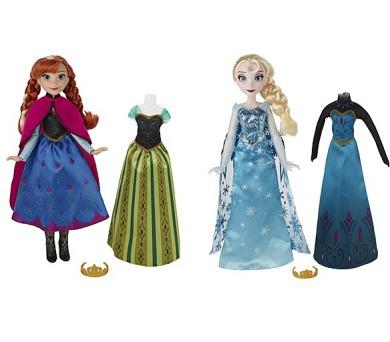 Hasbro Frozen s náhradními šaty + DOPRAVA ZDARMA