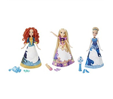 Hasbro Disney Princess s vybarovací sukní + DOPRAVA ZDARMA