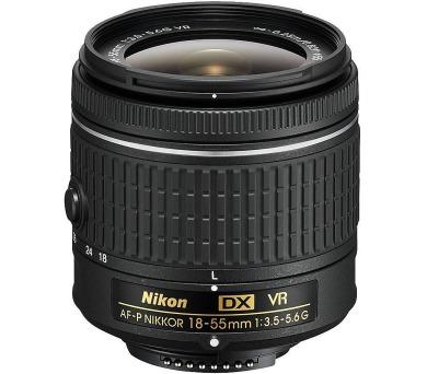 Nikon 18–55mm f/3.5–5.6G AF-P DX VR NIKKOR