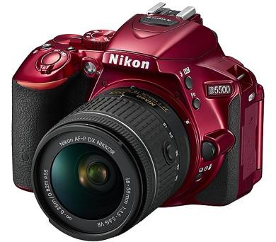 Nikon D5500 + AF-P 18-55 VR + ZDARMA powerbanka Nikon + DOPRAVA ZDARMA