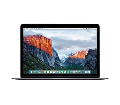 Apple Macbook 12 - space gray m3- 6Y30