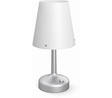 LAMPA STOLNÍ baterie ŠEDÁ Philips 71796/48/P0