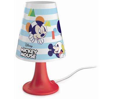 Disney Mickey Mouse LAMPA STOLNÍ LED 2,3W 220lm 2700K Philips 71795/30/16 + DOPRAVA ZDARMA