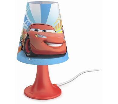 Disney Cars LAMPA STOLNÍ LED 2,3W 220lm 2700K Philips 71795/32/16 + DOPRAVA ZDARMA