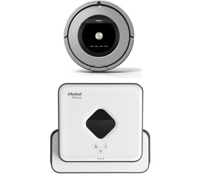 iRobot Roomba 886 + robotický mop iRobot Braava 390 + DOPRAVA ZDARMA