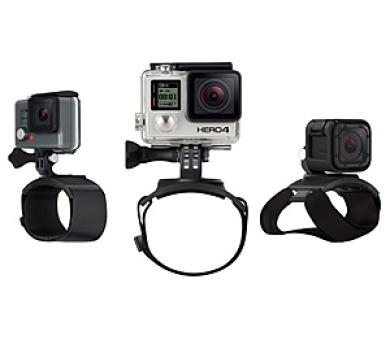 GoPro The Strap (držák na ruku + zápěstí + paži + nohu) - černý + DOPRAVA ZDARMA