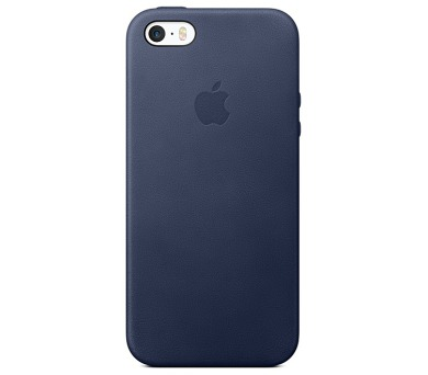 Apple Leather Case pro iPhone 5/5s/SE - midnight blue