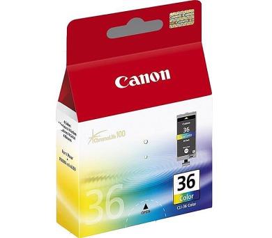 Canon CLI-36C originální - červená/modrá/žlutá