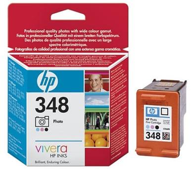 Inkoustová náplň HP No. 348