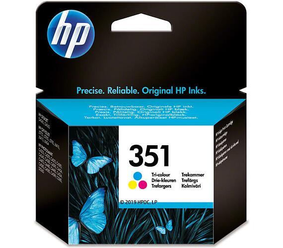 Inkoustová náplň HP No. 351