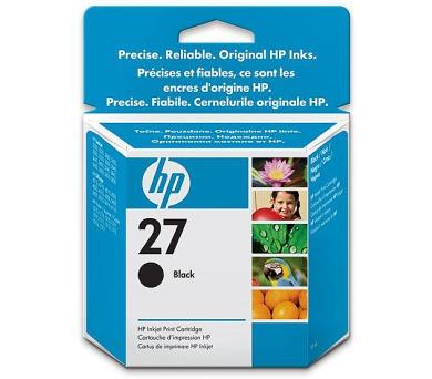 Inkoustová náplň HP No. 27