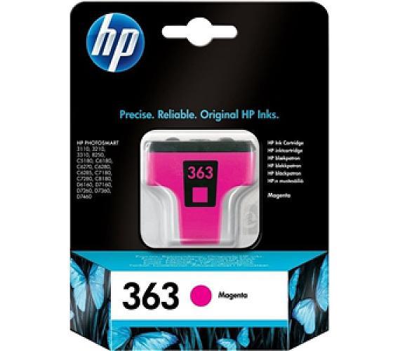 Inkoustová náplň HP No. 363