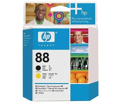 Inkoustová náplň HP No. 88 originální - černá