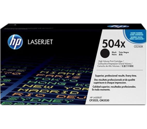 Toner HP CE250X + DOPRAVA ZDARMA