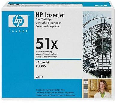 Toner HP Q7551X + DOPRAVA ZDARMA