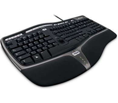 Microsoft Natural Ergonomic Keyboard 4000 CZ - černá