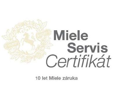 Miele servis certifikát - 10 let záruka + DOPRAVA ZDARMA