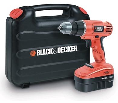 Aku vrtačka Black&Decker EPC18CAK