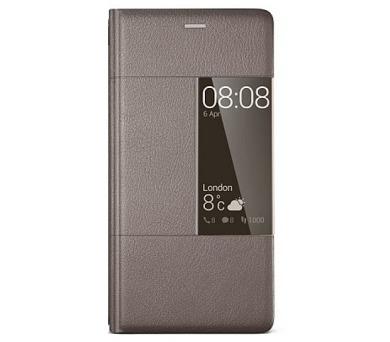 Huawei Smart Cover pro P9 - hnědé + DOPRAVA ZDARMA