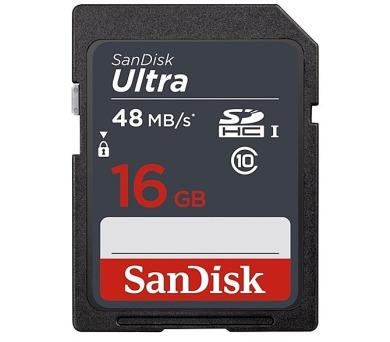 Sandisk SDHC Ultra 16GB UHS-I U1 (48R/10W)