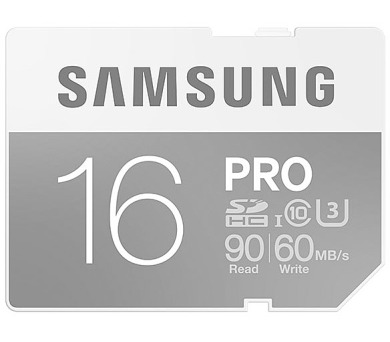 Samsung SDHC PRO 16GB UHS-I U3 (90R/60W)