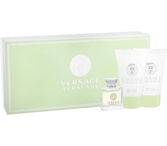 Versace Versense 5ml + 25ml sprchový gel + 25ml tělové mléko