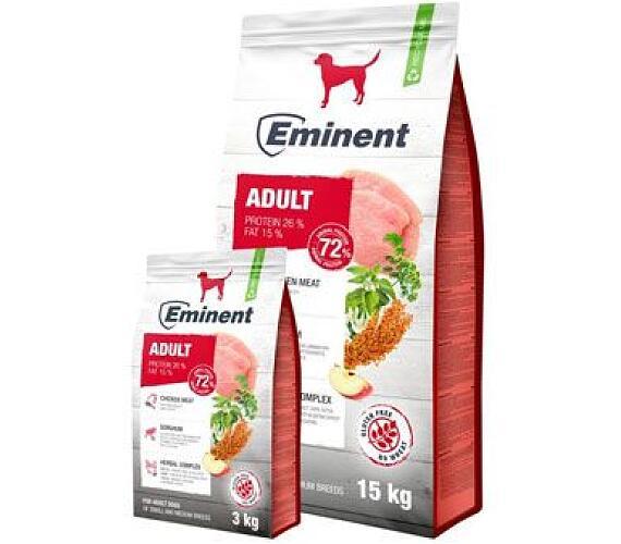 Eminent Adult 15 kg + 3 kg ZDARMA