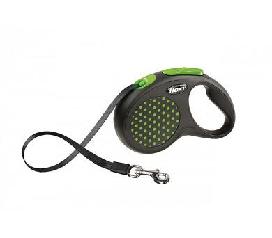 Flexi Design S Pásek 5m/15kg - zelená
