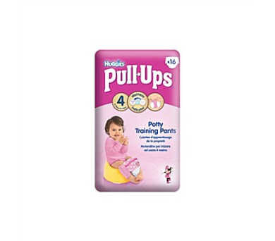 Plenky HUGGIES® Pull Ups Small - Girls 8-15 kg