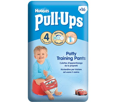 Plenky HUGGIES® Pull Ups Small - Boys 8-15 kg