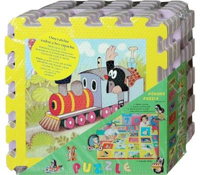 Pěnové puzzle HM Studio Krtek 30x30 cm + DOPRAVA ZDARMA
