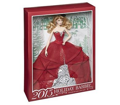 Barbie Mattel vánoční + DOPRAVA ZDARMA