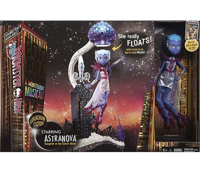 Mattel Monster High Bloodway vznášející se Astranova