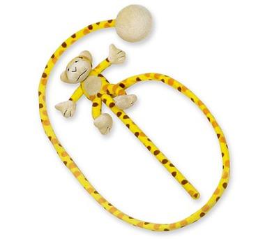 Nobby Monkey udice opice 130cm - žlutá