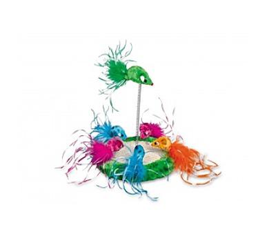 Nobby Hrací hřiště pro kočku 19x24cm - různobarevná