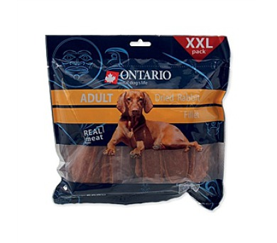 Ontario Snack Adult Dry Rabbit fillet 500g