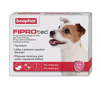 Beaphar Spot on Fiprotec pro psy S 5 - 10 kg