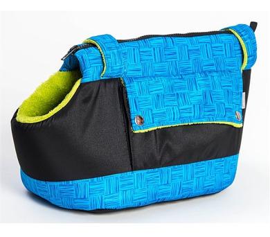 Samohýl Zara textil 30cm - modro/zelená + DOPRAVA ZDARMA